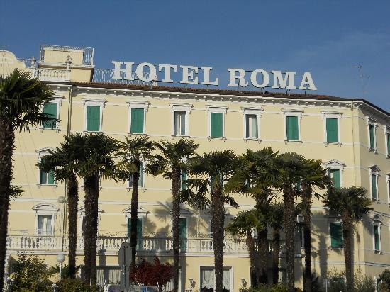 Hotel Terme Roma : facciata