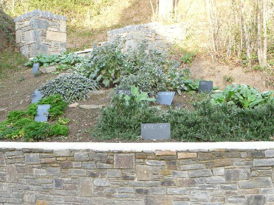 Stocks Hotel: The Herb Garden