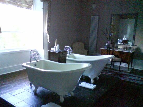 Boath House: The bathroom