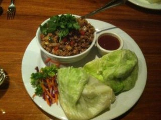 Indochine Asian Dining Lounge : Awesome lettuce wraps!