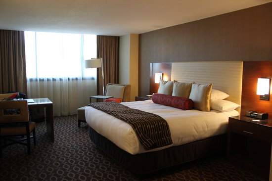 Hyatt Regency O'Hare: Bedroom of the VIP Suite