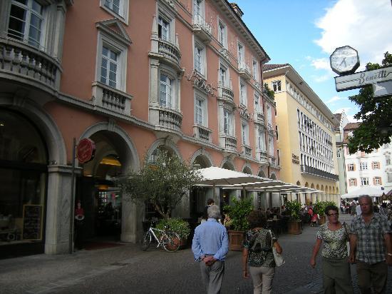 Bolzano city center Picture of Stadt Hotel Citta Bolzano