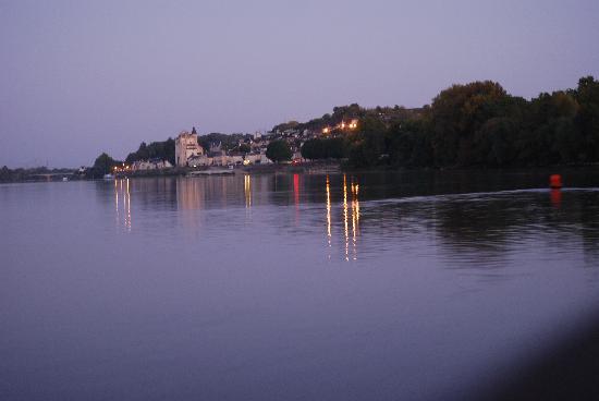 Restaurant Diane de Meridor : Montsoreau vue de la Loire