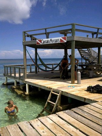 Captain Morgan's Dive Centre: The dock