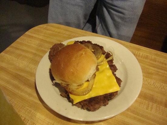 The Irish Shanti: Burger with American Cheese