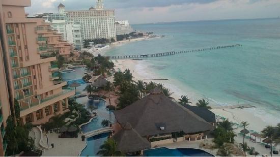 Grand Fiesta Americana Coral Beach Cancun: вид из номера в отеле Фиеста Американ Гранд Корал Бичь