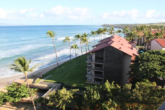 Aston Kaanapali Shores: View from Living Patio