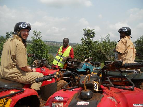 All Terrain Adventures : Briefly stopping to admire the stunning view over the River Nile.