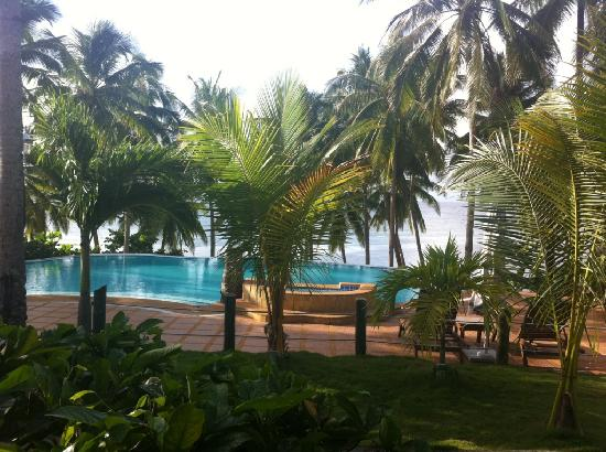 Anda White Beach Resort: Amazing view from breakfast