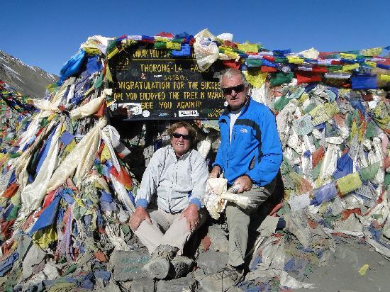 Annapurna Mountain Range: Thorong La pass (5416 m)