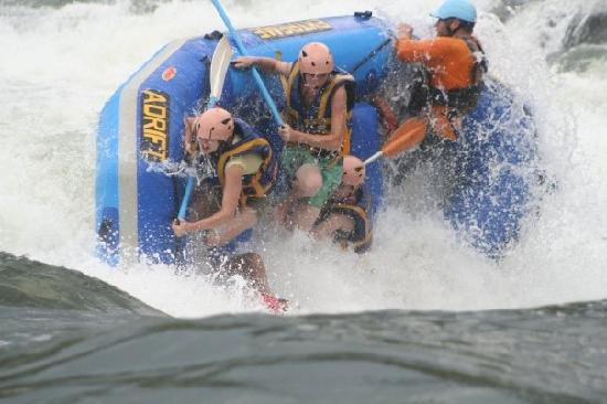 Nile High Bungee: Rafting with Adrift on the River Nile