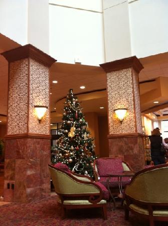 إمباسي سويتس هوت سبرينجز - هوتل آند سبا: Christmas in the Lobby