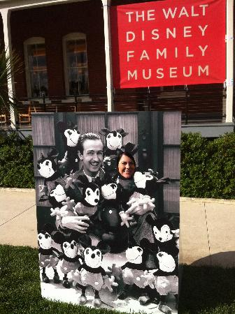 Walt Disney Family Museum: Walt, Mickey, and Me!
