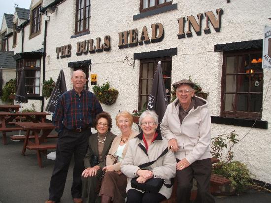The Bull's Head Inn Foolow Restaurant: Our party at the Bull's Head Inn