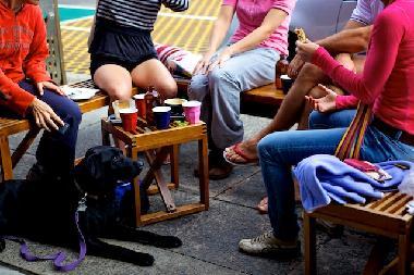 Bondi Beach Cafe Culture