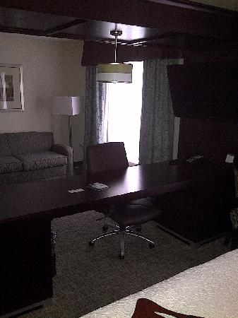 Hampton Inn Kansas City Liberty: Desk area