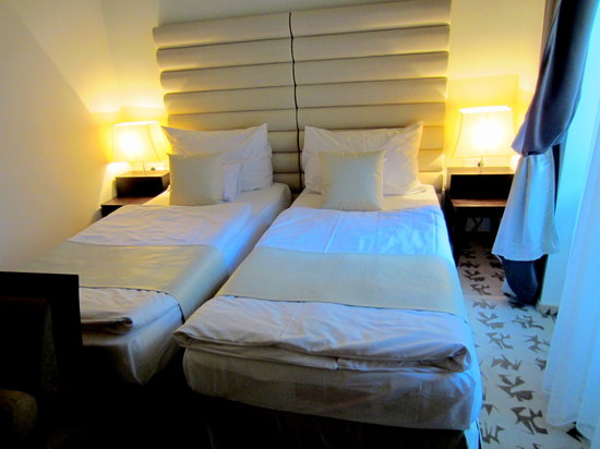 Buda Castle Fashion Hotel: twin room