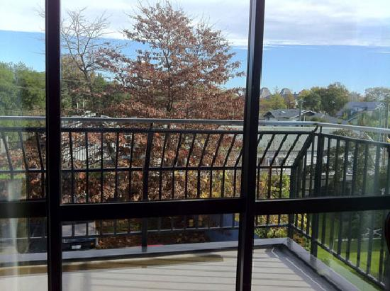 The Chester Bed & Breakfast Apartment: Balcony and View