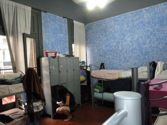St. Nicholas Hostel: 8-bed dorm room