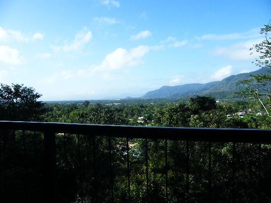 Kookas Bed & Breakfast: View from the breakfast balcony