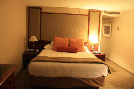 Hyatt Regency San Francisco: king bed