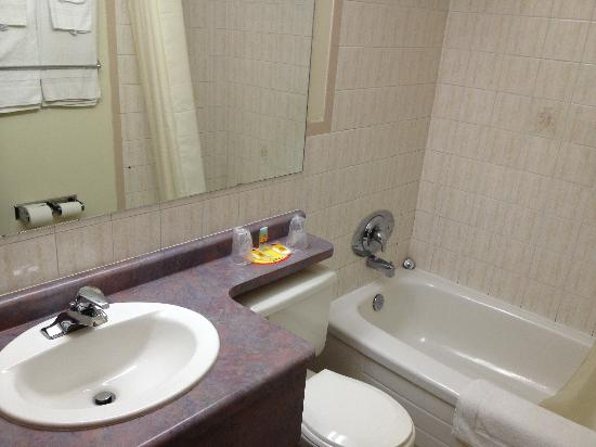 7 Days Inn Niagara Falls: Bathroom