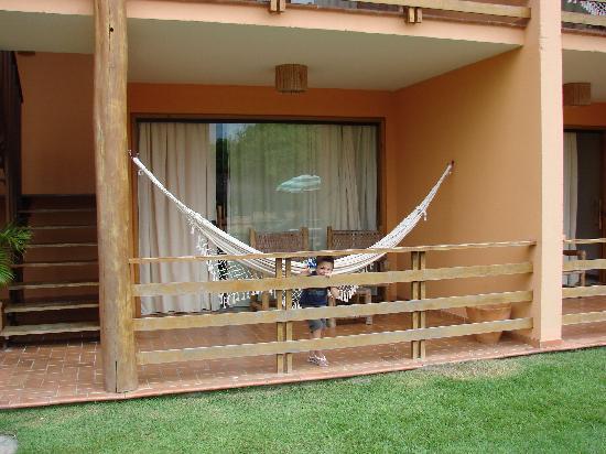 Resort La Torre: Frente de la habitacion