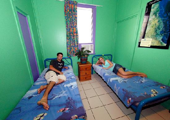 Calypso Inn Backpackers Resort: Twin Room