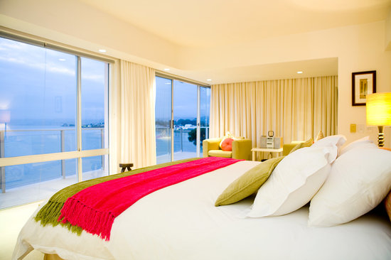 Milkwood Bay Guest House: One of the rooms at Milkwood Bay - The Knysna Lagoon at twilight makes for a awe inspiring view.