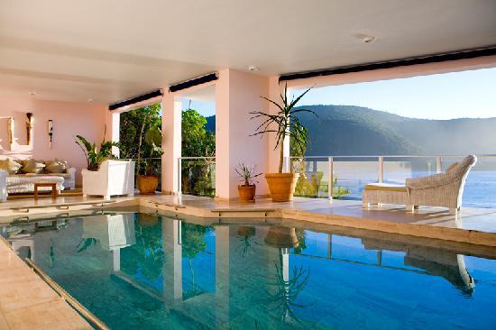 Milkwood Bay Guest House: Milkwood Bay Pool - the indoor pool at Milkwood Bay