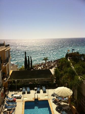 Toboso apar-turis Hotel: view from our balcony