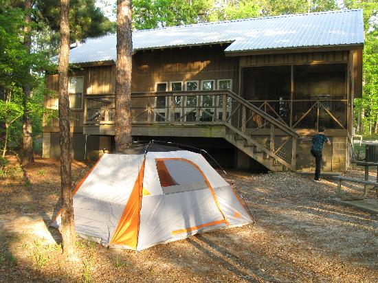 Incroyable South Toledo Bend State Park: Back Of Cabin