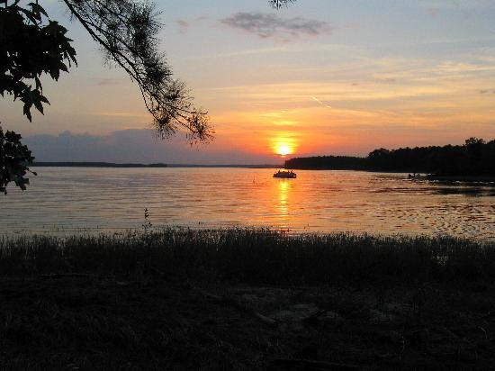 South Toledo Bend State Park: Sunset