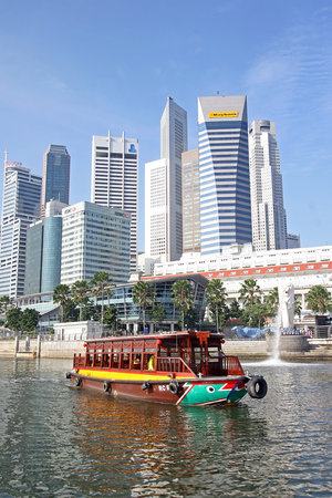 Singapore River, Singapur: cruise