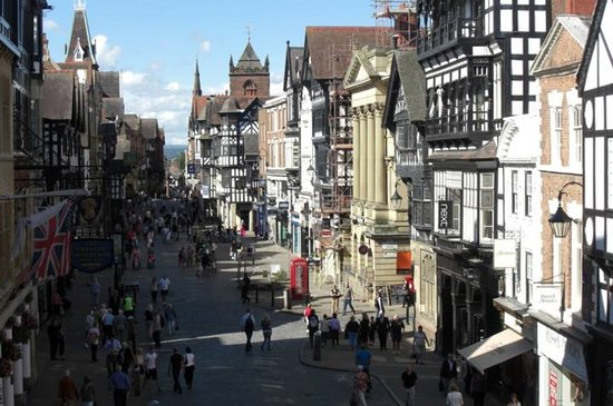 North Wales, UK: Town of Chester