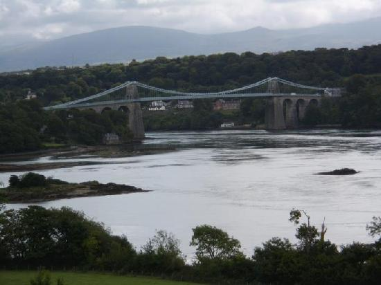 Syd-Wales, UK: Menai Bridge, Angelsey