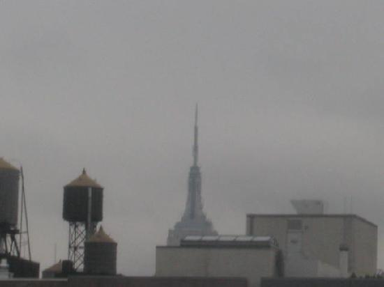 Solita Soho Hotel: Top of Empire State from rooom