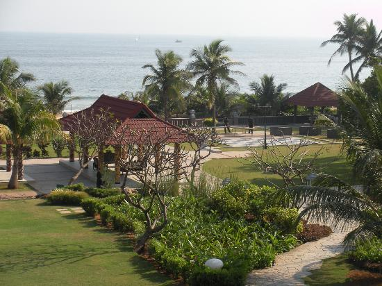 The Park Visakhapatnam: View from my room on the 3rd or 4th floor... can't quite remember