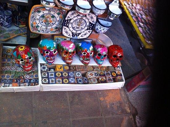 Mercado el Parian: Talavera y cerámica poblana