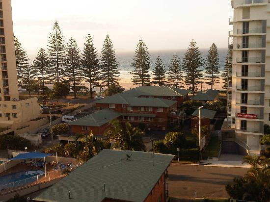 Rainbow Bay Resort: View from the Balcony