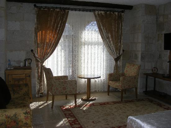 Goreme Suites: the seating