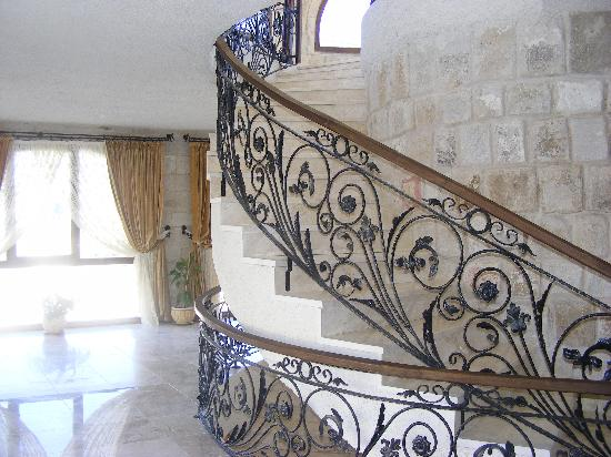 Goreme Suites: the beautiful stairway