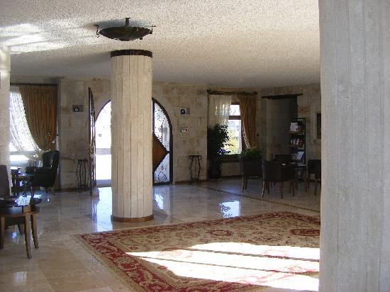 Goreme Suites: the reception