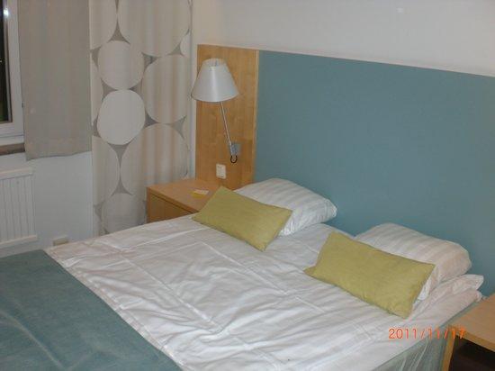 Scandic Hotel Opalen: nice comfort bed