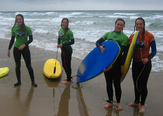 Surf Steps: Great whatever the weather