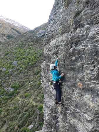Rock and Rambles: getting up there!!