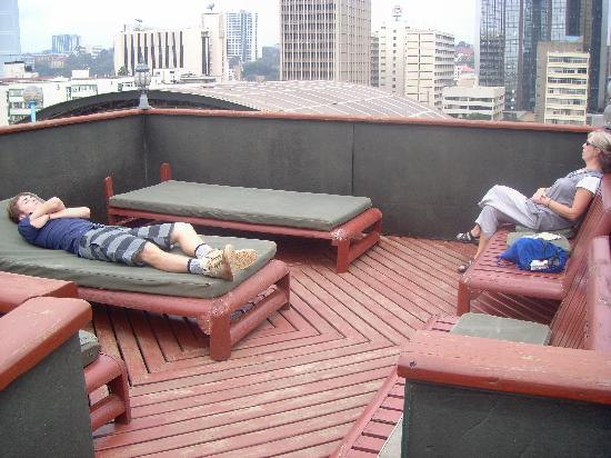 Kenya Comfort Hotel: Sun Lounge