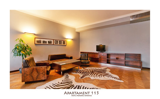 Hotel Monopol : Suite 115