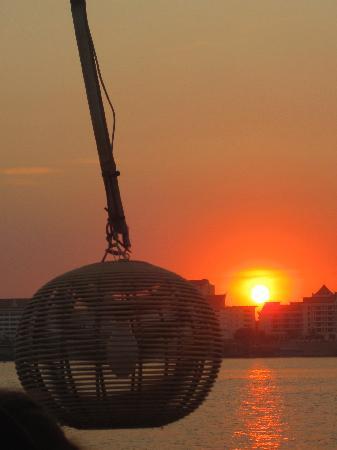 Mekong Getaways: Coucher de soleil