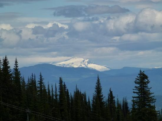 Vernon, Kanada: View from top of Silver Star Mountain